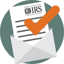 sample tax notices letter icon