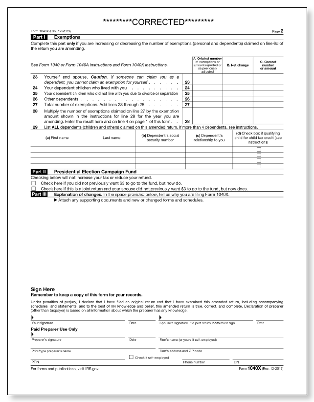 IRS Audit Letter 474C – Sample 1